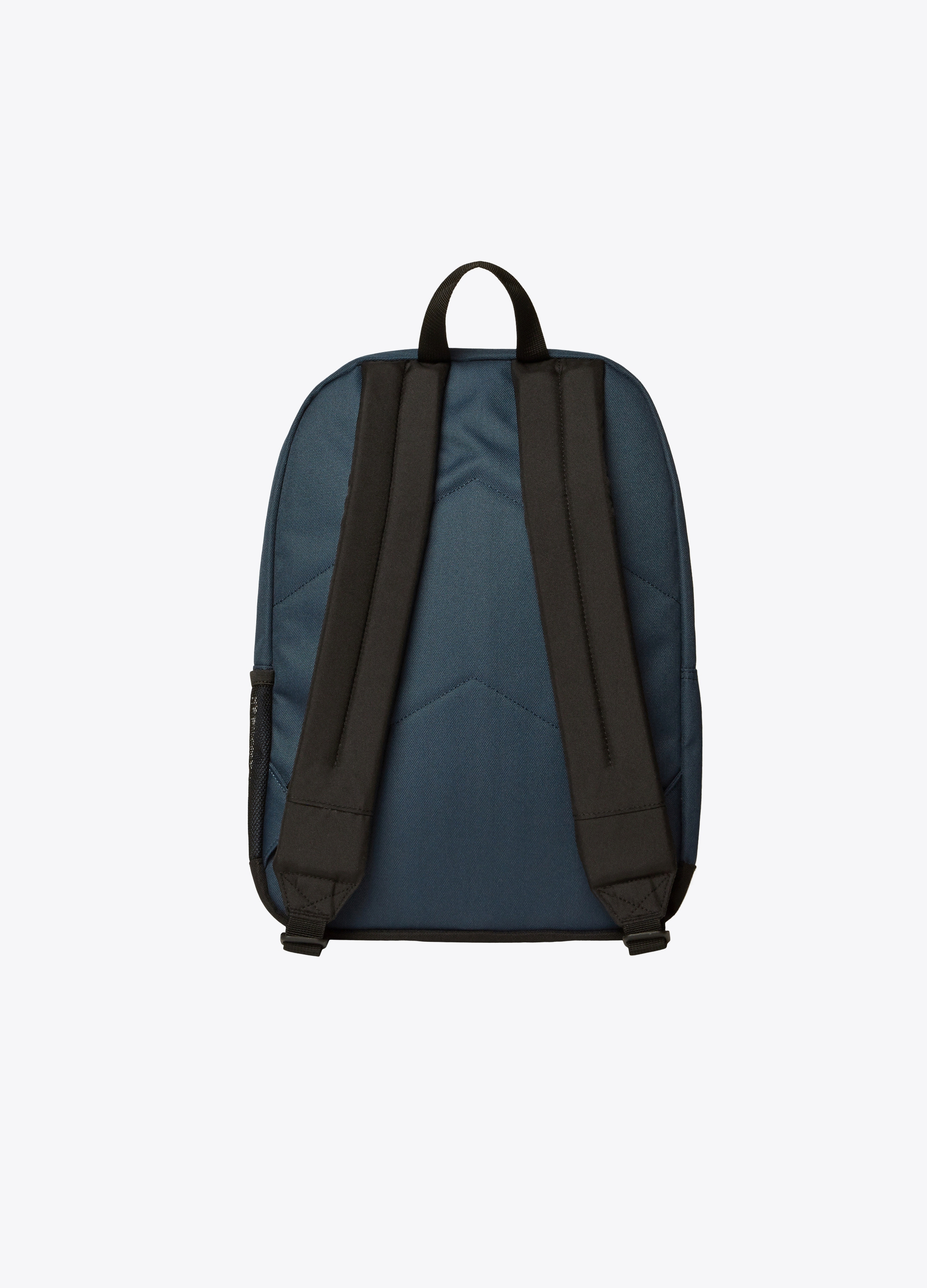 Solid colour backpack with pockets