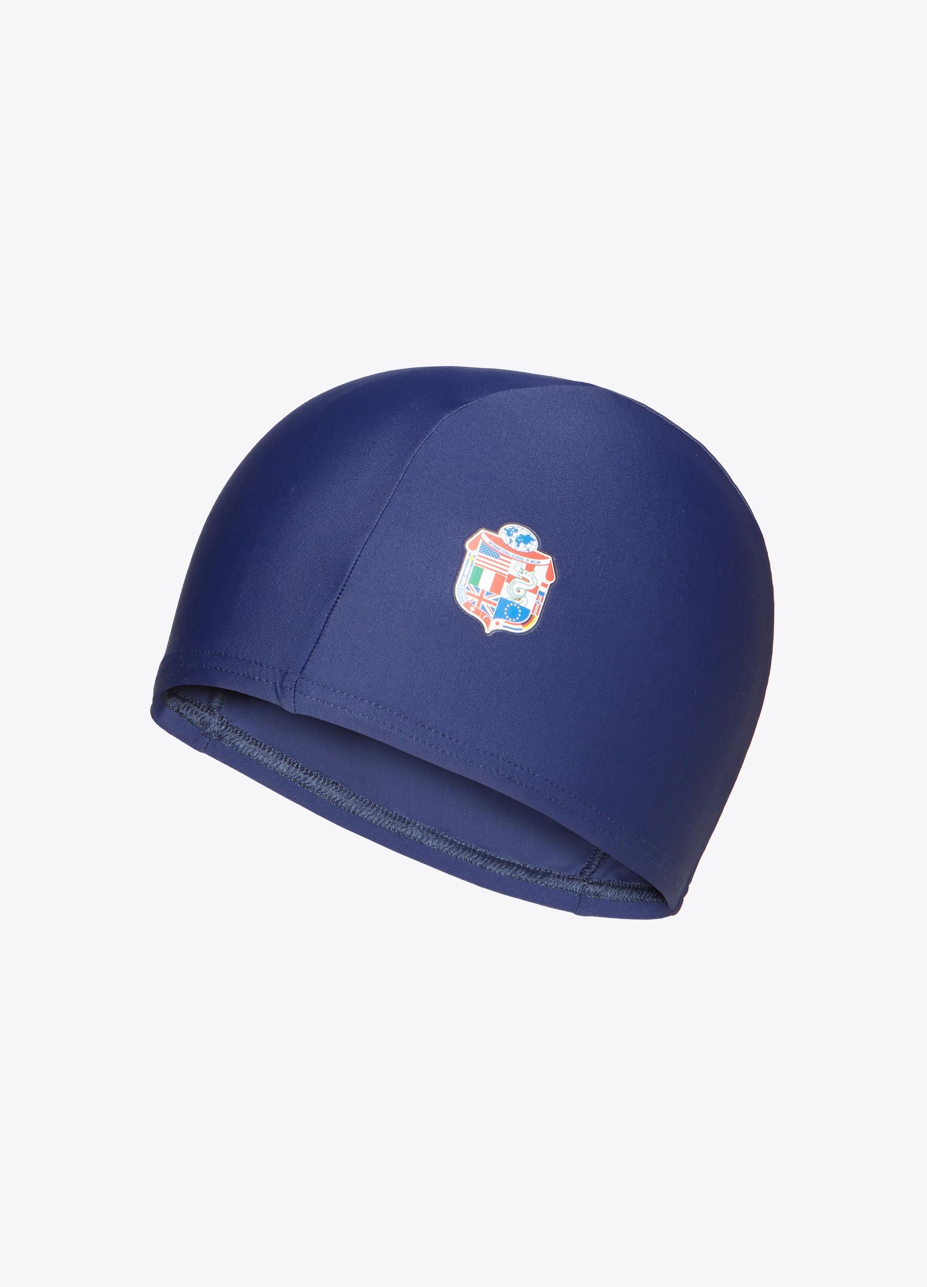 Lycra swim cap with print